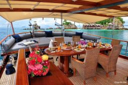 South-East-Asia-28-metre-ketch-gulet-aft-deck-seating-area