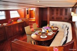 South-East-Asia-28-metre-ketch-gulet-saloon-area