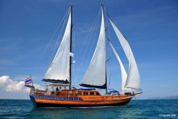 South-East-Asia-28-metre-ketch-gulet-under-sail