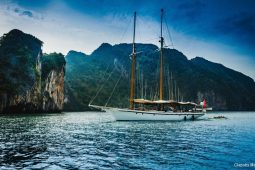 South-East-Asia-97-ft-Classic-Sailing-Schooner-anchored-off