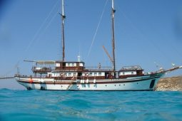Clipper II traditional cruising yacht