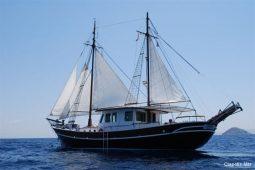 65 ft motor sailing yacht