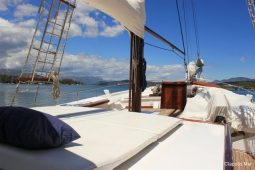 65 ft motor sailing yacht Greece