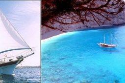 20 m wooden ketch boat Greece