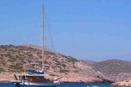 20 metre wooden sloop boat