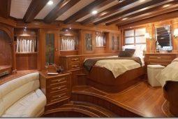 37 metre Luxury turkish schooner yacht Turkey