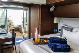 Caribbean Bahamas Lagoon 62 ft Sailing Catamaran OK master cabin