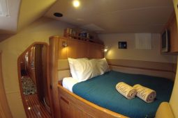 Caribbean Bahamas Privilege 65 ft Sailing Catamaran double cabin 2
