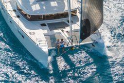 Phuket Lagoon 52 ft Sailing Catamaran under sail