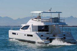 Phuket Leopard 51 ft Power Catamaran cruising
