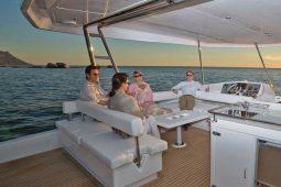 Phuket Leopard 51 ft Power Catamaran flybridge