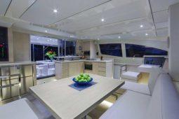 Phuket Leopard 51 ft Power Catamaran lounge ok