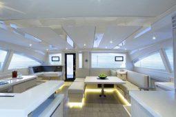 Phuket Leopard 51 ft Power Catamaran saloon ok