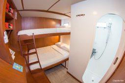 Galapagos Alumarine 22 metre sailing catamaran triple cabin