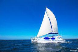 Galapagos Alumarine 23 metre sailing catamaran