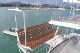 Mergui&Thailand 48 ft Custom Sailing Catamaran new cockpit seating
