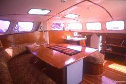 Mergui&Thailand 48 ft Custom Sailing Catamaran saloon