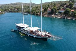 Croatia 32 metre three-masted motor sailing gulet