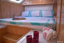 BVI SVI 53 ft Royal Cape Sailing Catamarans Master king cabin 2