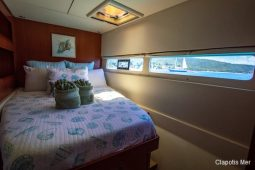 BVI St Barts 58 ft Robertson and Caine Sailing Catamaran double cabin 1