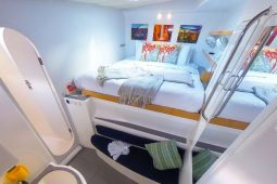 Caribbean BVI Voyage 58 ft Catamaran queen cabin