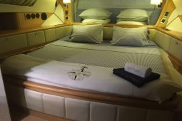 Caribbean Grenadines Privilege 65 ft Sailing Catamaran master cabin