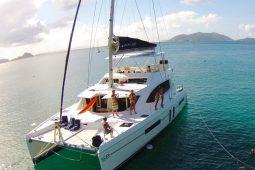 Caribbean Saint Martin Leopard 58 ft Sailing Catamaran