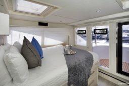 Caribbean Saint Martin Leopard 58 ft Sailing Catamaran master cabin