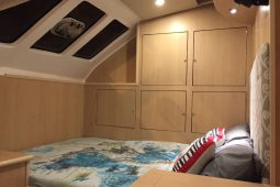 Mozambique Lesal 53 ft Power Catamaran cabin